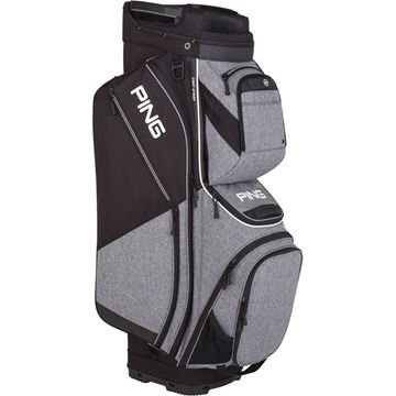 f4e889c162 Picture of Ping Pioneer Cart Bag 2019 - Heather Grey Black