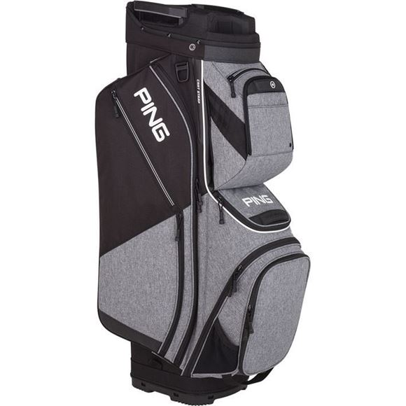 Picture of Ping Pioneer Cart Bag 2019 - Heather Grey/Black