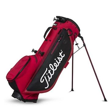 Picture of Titleist Players 4 Plus Stand Bag - Red/Black