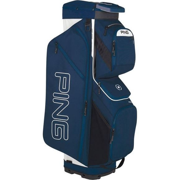 Picture of Ping Traverse Cart Bag 2019 - Navy/White