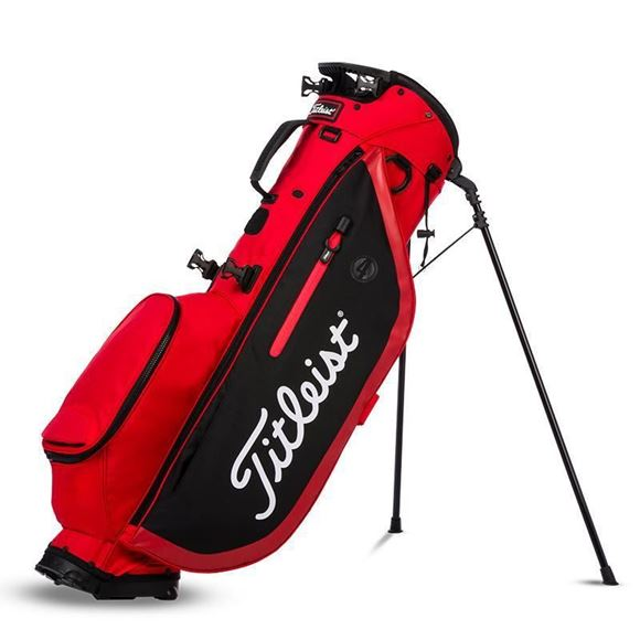 Picture of Titleist Players 4 Stand Bag - Red/Black
