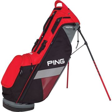 Picture of Ping Hoofer Lite Carry Bag 2018 - Scarlet/Black/Grey