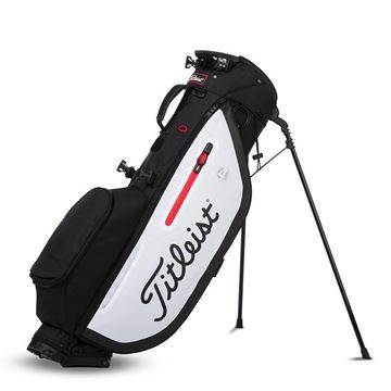 Picture of Titleist Players 4 Stand Bag - Black/White/Red