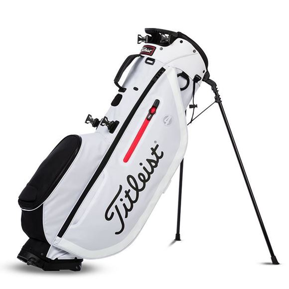 Picture of Titleist Players 4 Stand Bag - White/Black