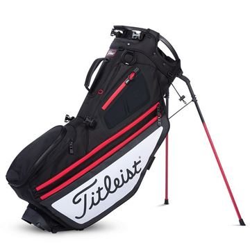 Picture of Titleist Hybrid 14 Bag - Black/White/Red