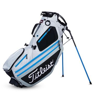 Picture of Titleist Hybrid 14 Bag - Silver/Black/Blue
