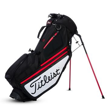 Picture of Titleist Hybrid 5 Bag - Black/White/Red