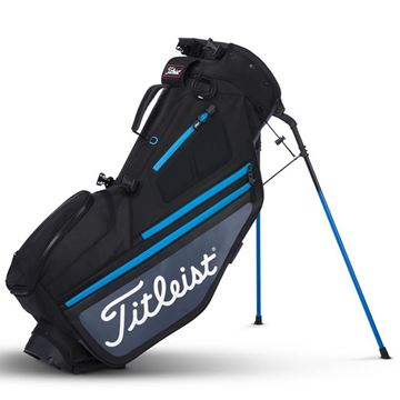 Picture of Titleist Hybrid 5 Bag - Black/Charcoal/Blue