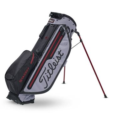 Picture of Titleist Players 4 Plus StaDry Stand Bag - Black/Grey/Red