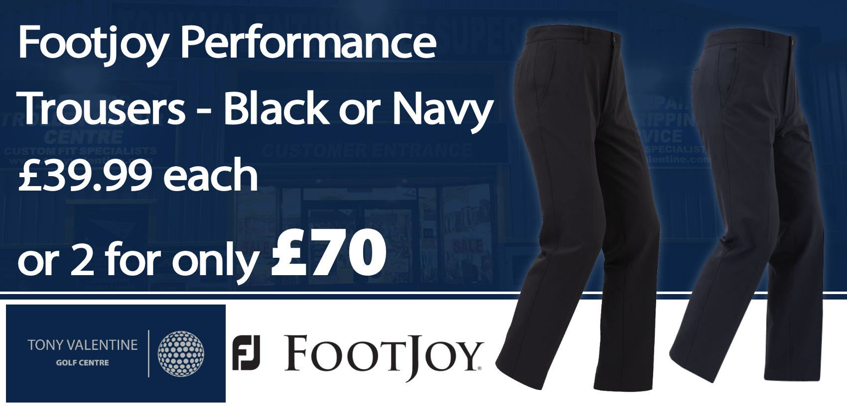 Footjoy Trouser Deal (2 for £70)