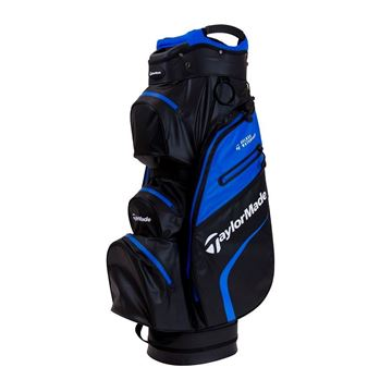 Picture of TaylorMade Deluxe Waterproof Cart Bag - Blue/Black