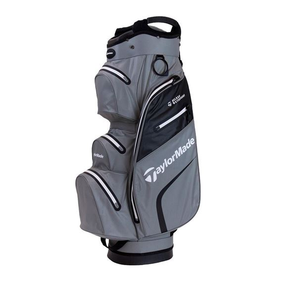 Picture of TaylorMade Deluxe Waterproof Cart Bag - Grey/Black