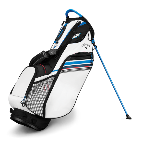 Picture of Callaway Hyper Lite 3 Stand Bag - 2019 - White/Black/Blue