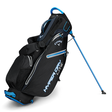 Picture of Callaway Hyper Dry Lite Stand Bag 2019 - Black/Royal/Silver