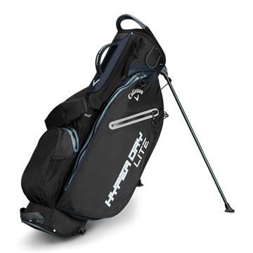 Picture of Callaway Hyper Dry Lite Stand Bag 2019 - Black/Titanium/Silver