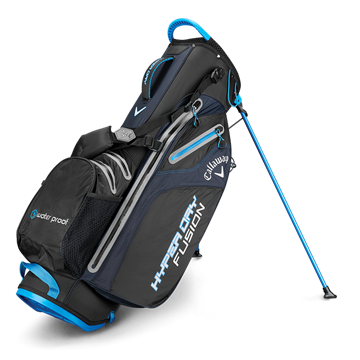 Picture of Callaway Hyper Dry Fusion Stand Bag 2019 - Black/Royal/Silver