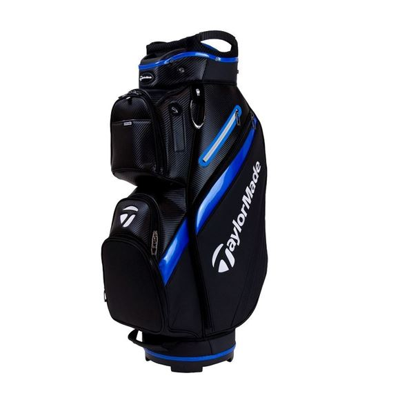 Picture of TaylorMade Deluxe Cart Bag - Black/Blue