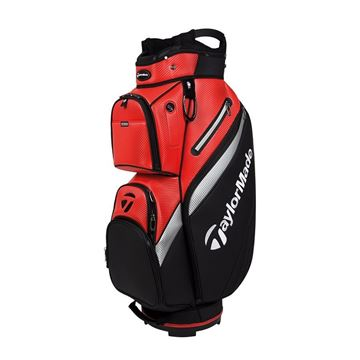 Picture of TaylorMade Deluxe Cart Bag - Red/Black