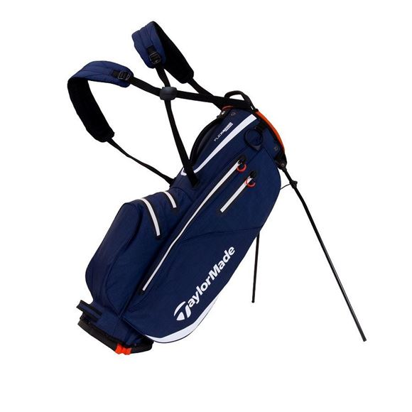 Picture of TaylorMade FlexTech Waterproof Stand Bag 2019 - Navy/White