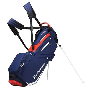 Picture of TaylorMade FlexTech Stand Bag 2019 - Navy/Red/White