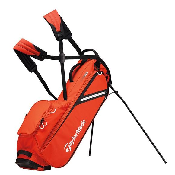 Picture of TaylorMade FlexTech Lite Stand Bag 2019 - Red/Black