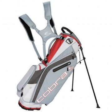 Picture of Cobra Ultralight Stand Bag 2019 - White/Grey/Red