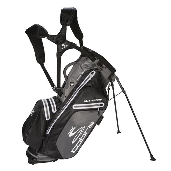 Picture of Cobra Ultradry Stand Bag UL19 - Black/Grey