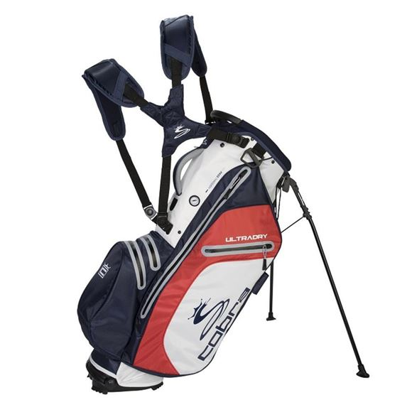 Picture of Cobra Ultradry Stand Bag 2019 - White/Navy/Red