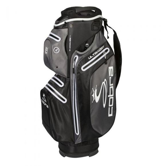 Picture of Cobra Ultradry Cart Bag 2019 - Black/Grey