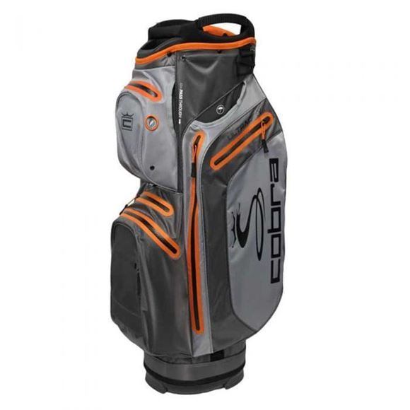 Picture of Cobra Ultradry Cart Bag 2019 - Grey/Orange