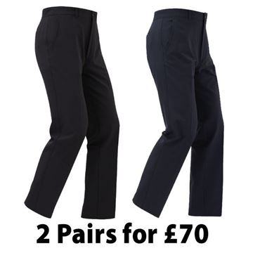 Picture of Footjoy Mens Performance Trousers - 1 for £39.99 or 2 For £70 (92290 & 92291)