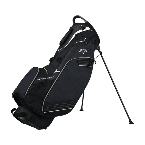 Picture of Callaway Hyper Lite 3 Stand Bag 2018 Bag - Black/Titanium/White