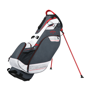 Picture of Callaway Hyper Lite 3 Stand Bag 2018 Bag - Titanium/White/Red