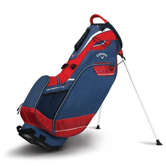 Picture of Callaway Hyper Lite 3 Stand Bag 2018 Bag - Navy/Red/White