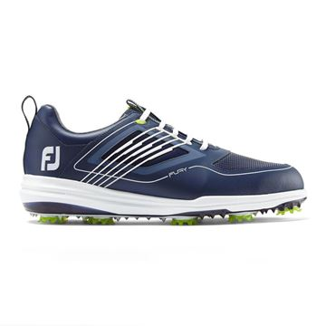 Picture of Footjoy Mens Fury Golf Shoes - 51101 Navy