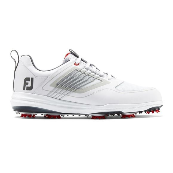 Picture of Footjoy Mens Fury Golf Shoes - 51100 White