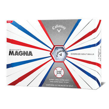 Picture of Callaway Supersoft Magna Golf Balls - White