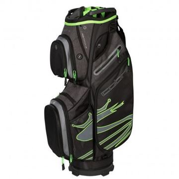 Picture of Cobra Ultralight Cart Bag 2019 - Black/Green