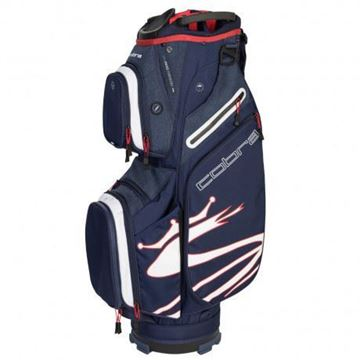 Picture of Cobra Ultralight Cart Bag 2019 - Blue/White