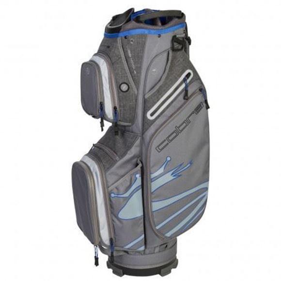 Picture of Cobra Ultralight Cart Bag 2019 - Silver/Blue