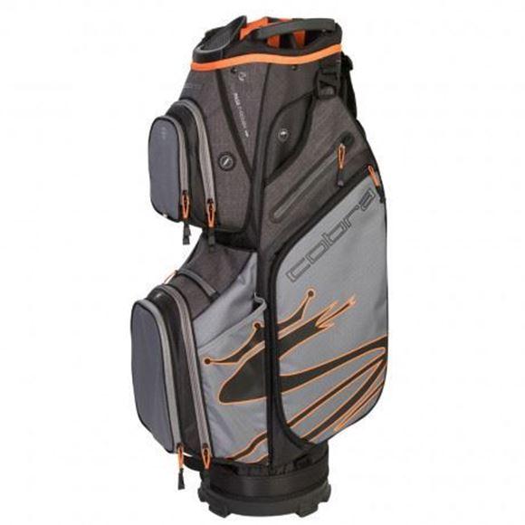Picture of Cobra Ultralight Cart Bag 2019 - Grey/Black/Orange