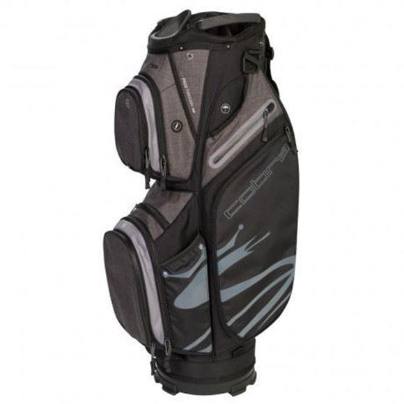 Picture of Cobra Ultralight Cart Bag 2019 - Black/Grey