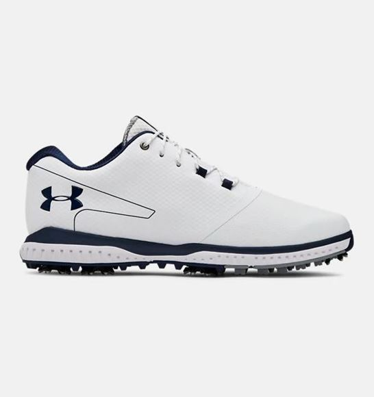 4b3817d80962a Under Armour Mens Fade RST 2 Golf Shoes - White - Next Day Delivery ...