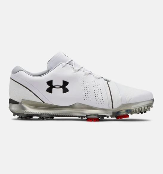 Picture of Under Armour Mens Spieth 3 Golf Shoes - White