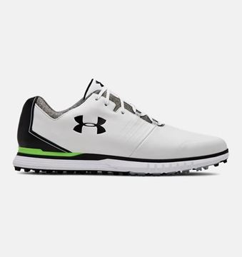 Picture of Under Armour Mens Showdown SL Golf Shoes - White