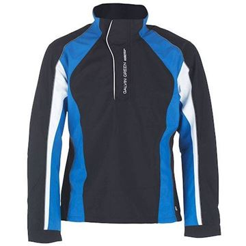 Picture of Galvin Green Mens Addison Waterproof Jacket - Black/Blue
