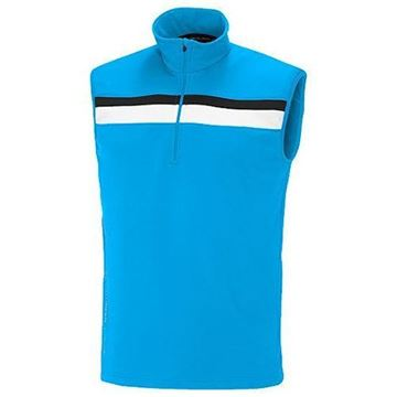 Picture of Galvin Green Mens Dyson Insula Vest - Ocean