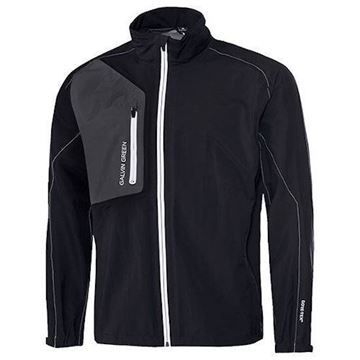Picture of Galvin Green Mens Angelo Waterproof Jacket - Black