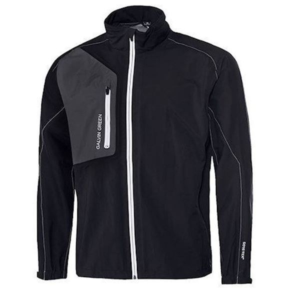 Picture of Galvin Green Mens Angelo Waterproof Jacket - Black