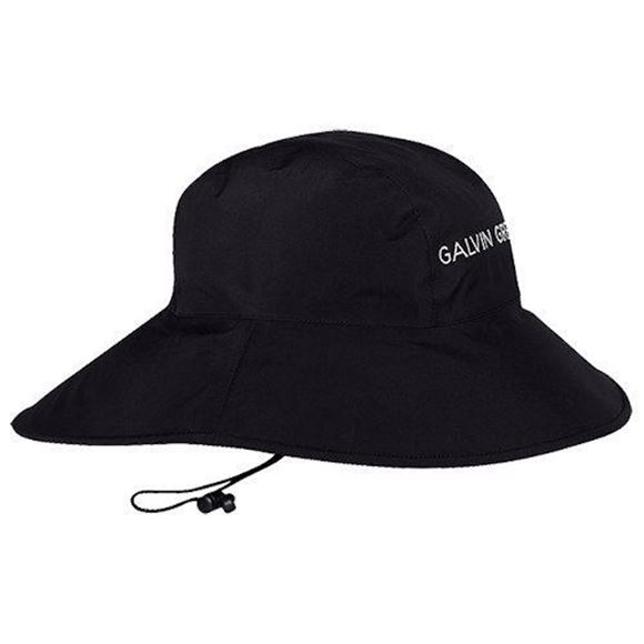 Picture of Galvin Green Mens Aqua Hat - Black